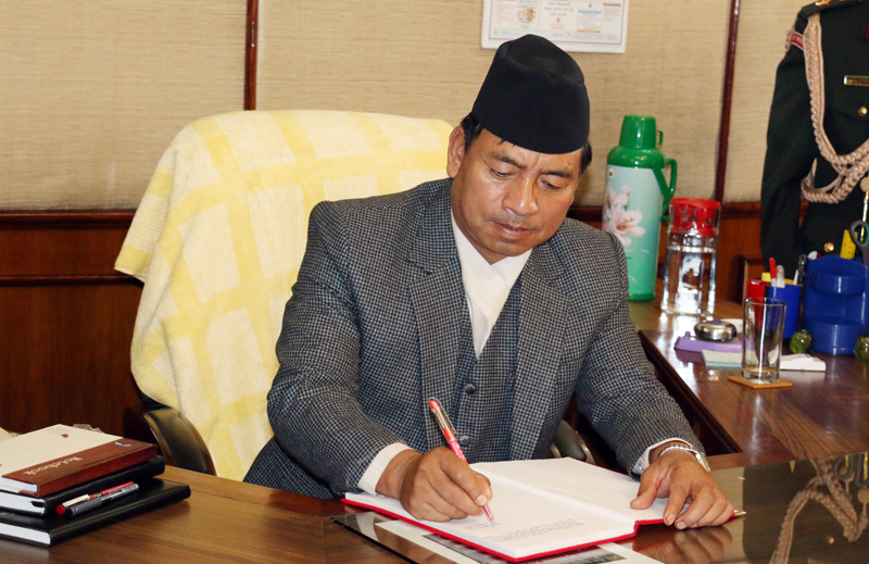 Nepal's participation in space a glory : Vice President Pun