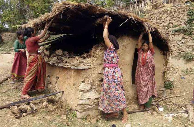 28 chhaugoths demolished in Doti
