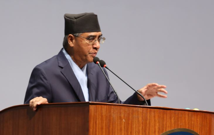 NC president Deuba expresses sorrow over Humla accident