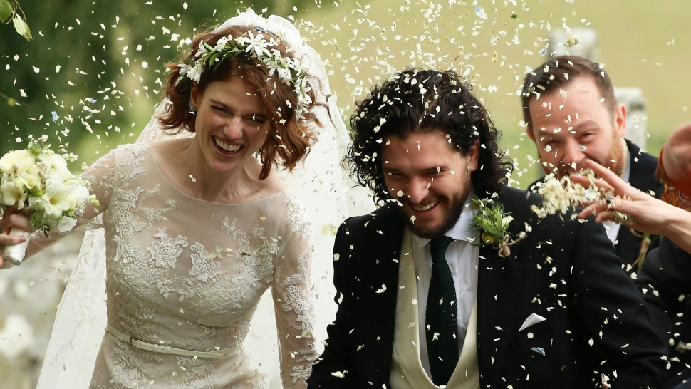 'Game of Thrones' stars Kit and Rose married