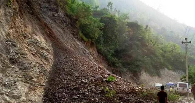 Two killed after being buried by landslide