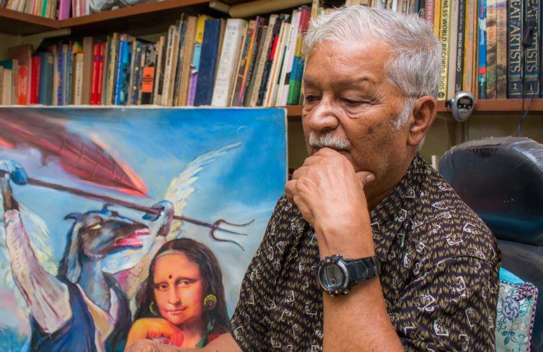Veteran artist Manuj Babu Mishra passes away