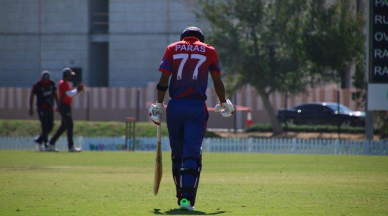 Paras Khadka resigns as Nepal cricket team captain