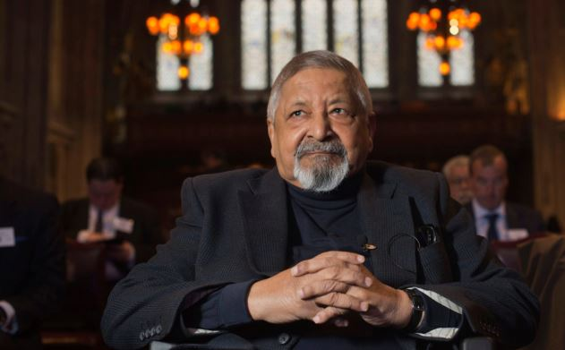 Nobel Prize winning author VS Naipaul no more