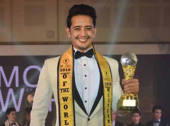 Dikpal Karki wins Mister Model of the World 2018