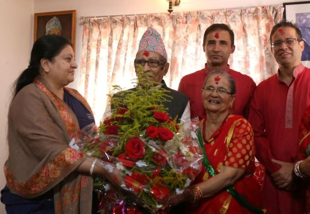 Rastrakavi Ghimire turns 100, President extend birthday wishes