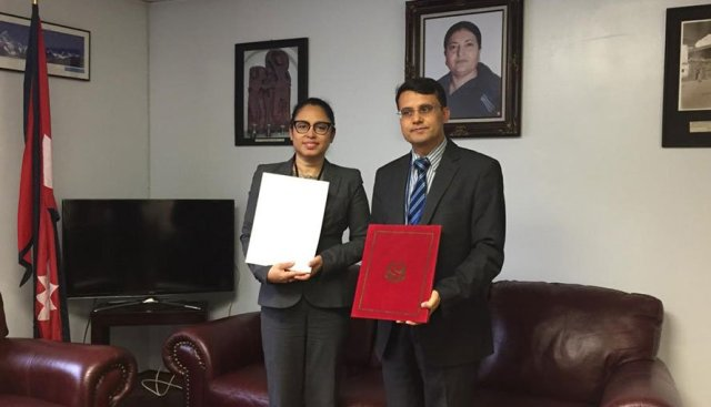 Nepal establishes formal diplomatic relations with Suriname