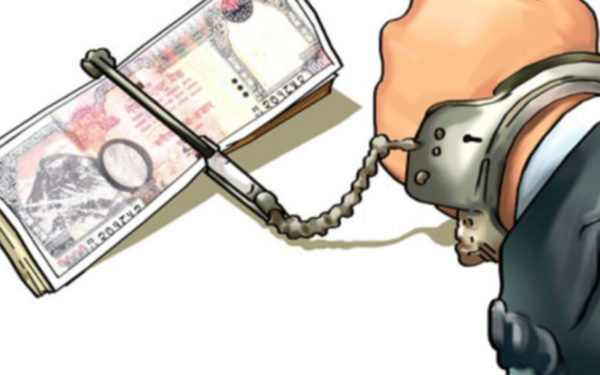 Government employee caught red-handed with bribe