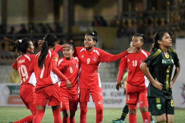 SAFF U18 Women's Championship Semifinals : Nepal to face India today