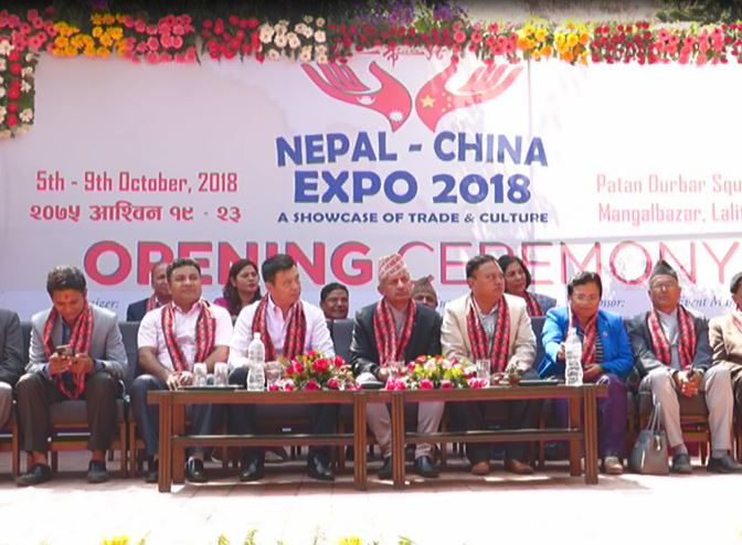 Nepal-China Expo begins in Lalitpur