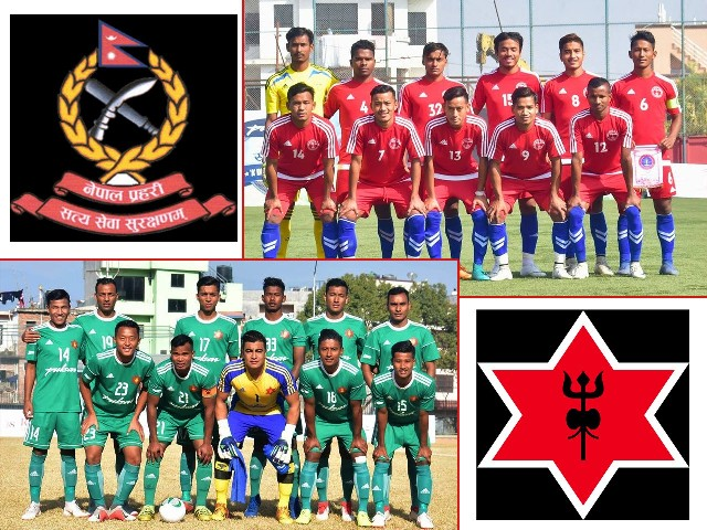 A Division League : Nepal Police playing Tribhuwan Army today
