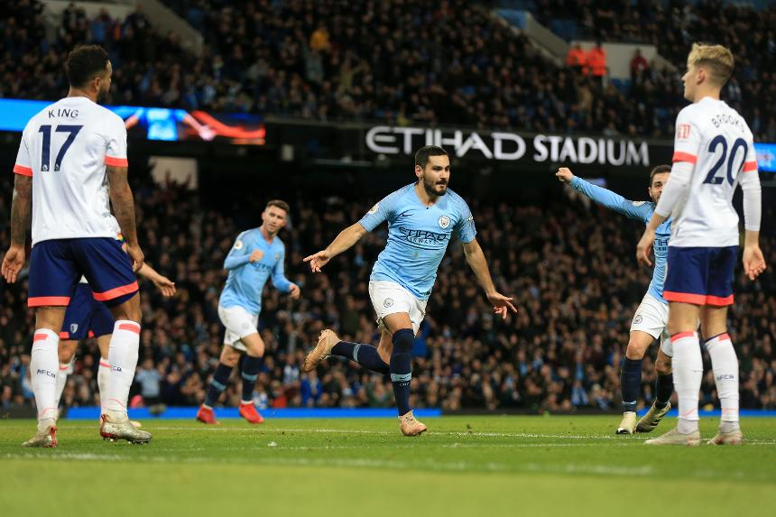 BPL : Manchester City win, Manchester United draw