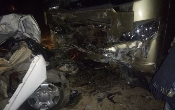 Six dead on the spot in Dang road accident