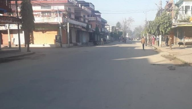 Shutdown affects normal life in Kanchanpur