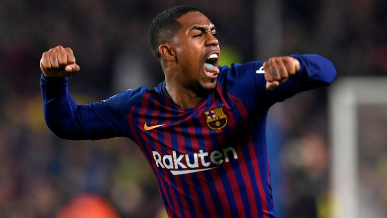 Malcom equaliser earns Barca draw with Real in Copa del Rey