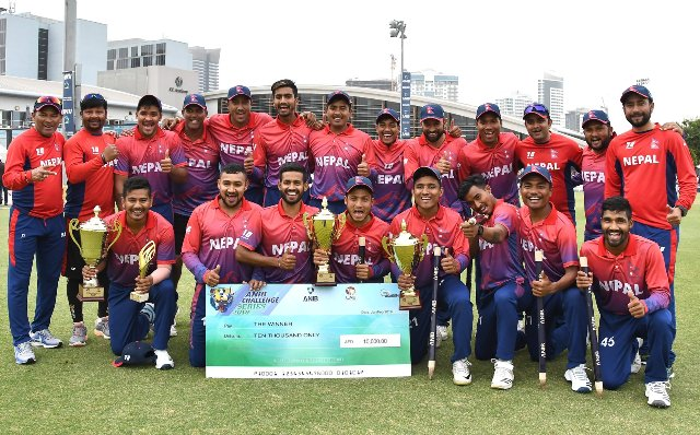 Govt to honour Nepali cricketers with 5 lakh cash prize each