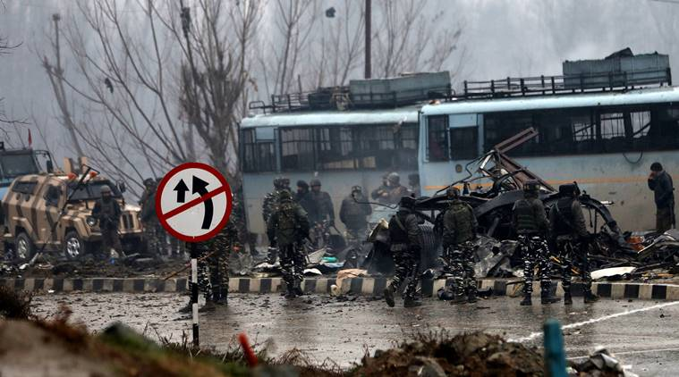 40 CRPF personnel killed in suicide attack in Kashmir