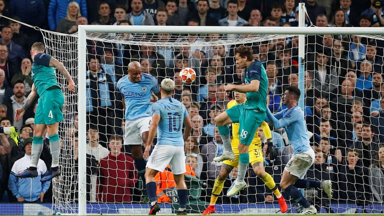 Champions League : Spurs knock City and Liverpool beat Porto to advance into semifinals