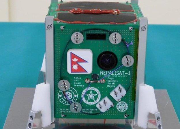 Nepal's first satellite NepaliSat-1 in space