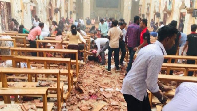 At least 52 killed as deadly blasts hit Sri Lanka churches and hotels