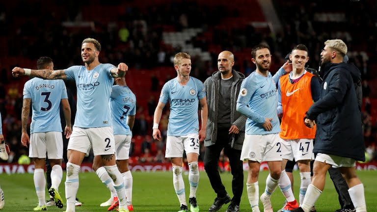 EPL : City return to top with derby win over Man Utd