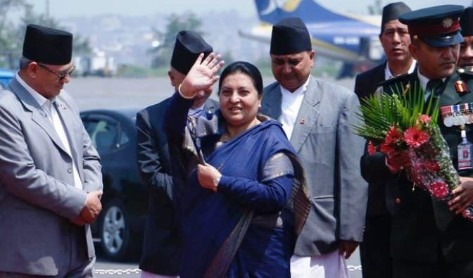 President Bhandari leaving for Myanmar today