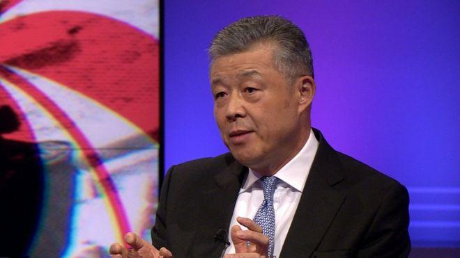 UK warned over sending 'bad signal' to China