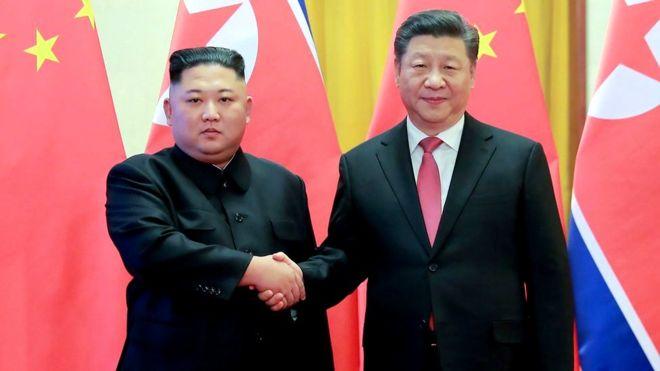 Xi Jinping visits N Korea to boost ties with Kim