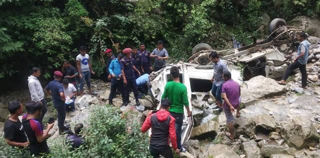 3 Dead, Six injured in Arghakhanchi jeep accident