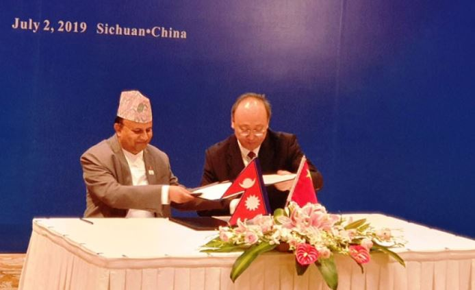 MoU signed between State-5 and Sichuan for sisterly relations