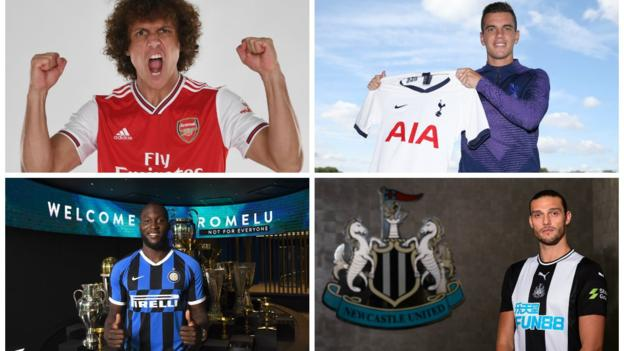 Deadline day signings take Premier League spending to £1.41bn