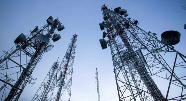 Telecom services disrupted in three districts