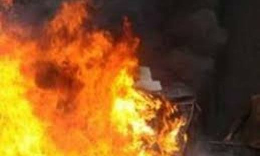 Municipality spokesperson's vehicle torched by unidentified group