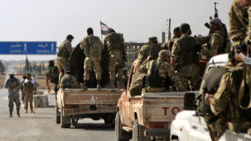 US slaps sanctions on Turkey over Syria offensive