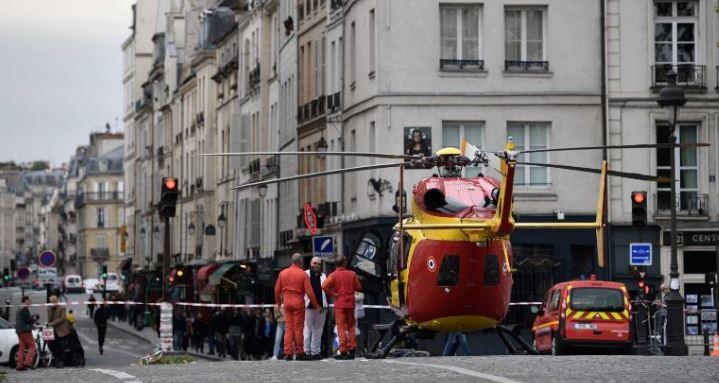 Paris knife attacker kills 4 people at police headquarters