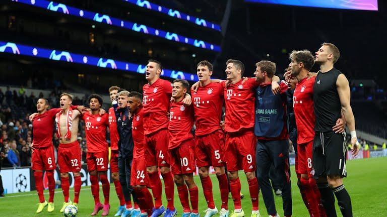 Champions League : Gnabry hits four as Bayern thrash Spurs 7-2