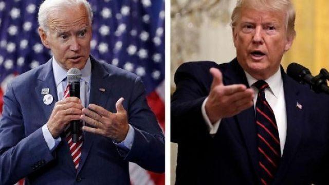 Trump urges China to investigate Bidens
