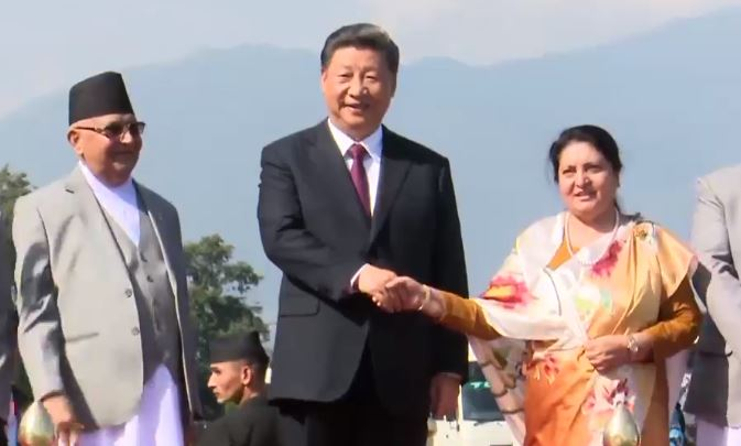 Chinese President Xi Jinping returns