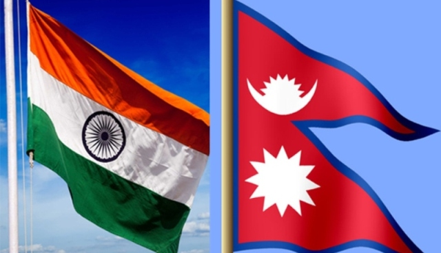 flag-of-nepal-and-india | Emountain TV English