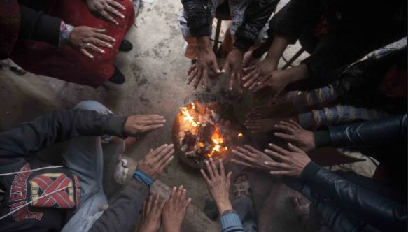 Cold affects normal life in Mahottari