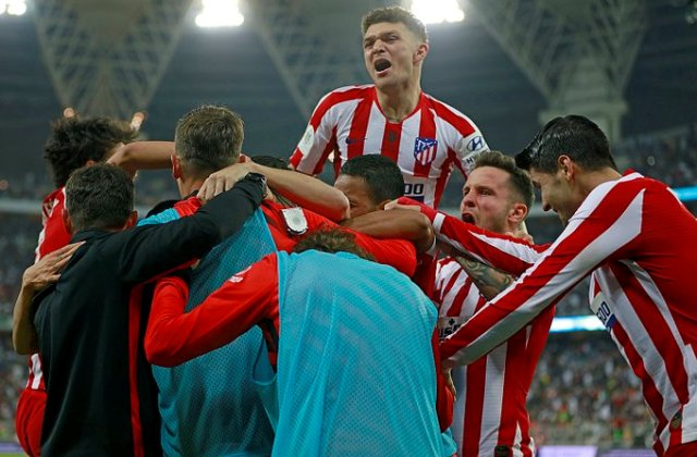 Atletico beat Barca to reach Super Cup final
