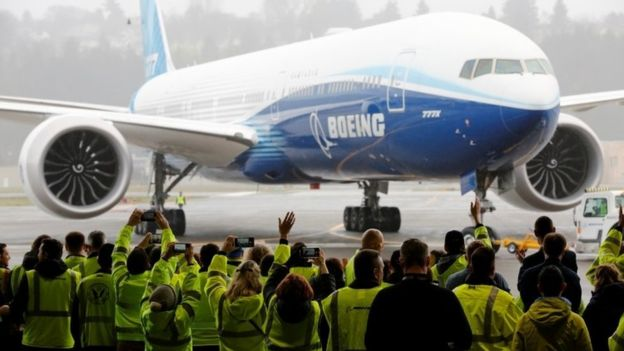 World's largest twin-engine jet takes to the air