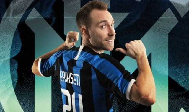 Inter sign Christian Eriksen from Tottenham