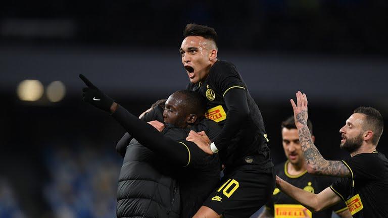 Lukaku scores two as Inter return top of Serie A