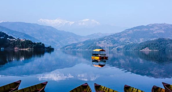 Tourists throng to Pokhara in New Year, 2020
