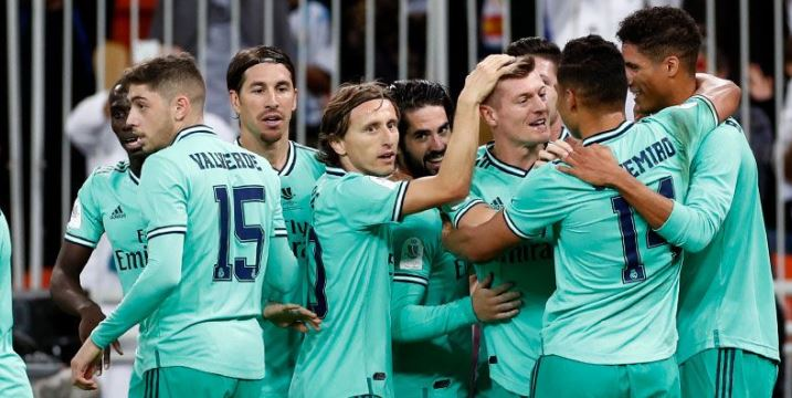 Real Madrid book spot in the Spanish Super Cup final