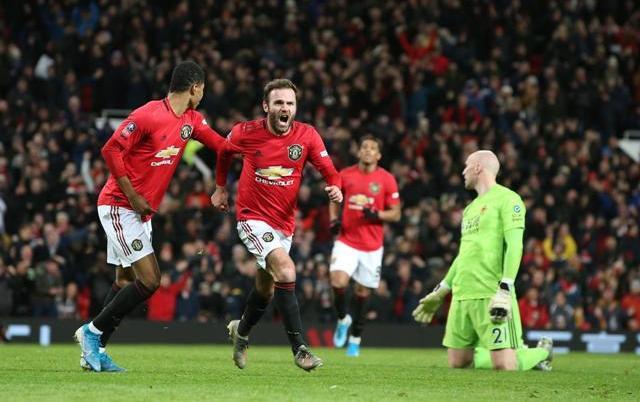 Mata winner sends Man Utd through in FA Cup