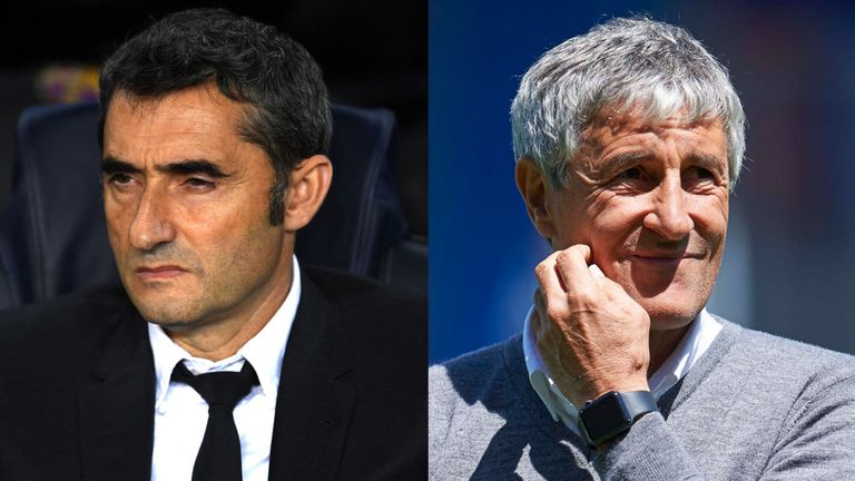 Barcelona sack Valverde and appoint Setien as head coach