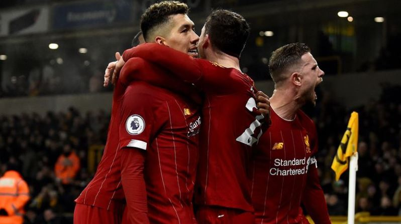 Firmino's late winner sends Liverpool 16 points clear at top